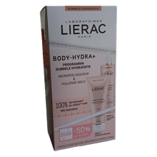 LIERAC DUO BODY GOMMAGE+LAIT REP 3508240009250