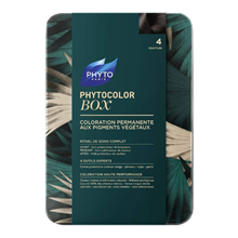 PHYTO COLOR BOX CHATAIN 4 3338221001634